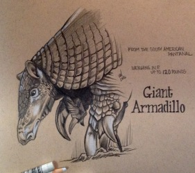 Charon Giant Armadillo